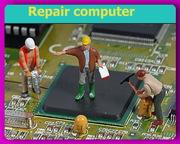 Замена чипа и видеоматрицы при ремонте персональных компьютеров